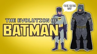 the evolution of batman animated