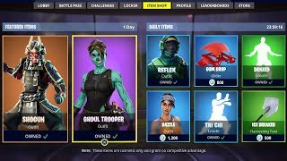 Fortnite ITEM SHOP COUNTDOWN LIVE - 26 août - NEW SKINS (Fortnite Battle Royale)