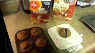 Whole Foods Diet:  Vegan Bran Muffins
