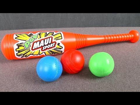Maui Sport Jumbo Bat and Ball from Maui Toys thumbnail