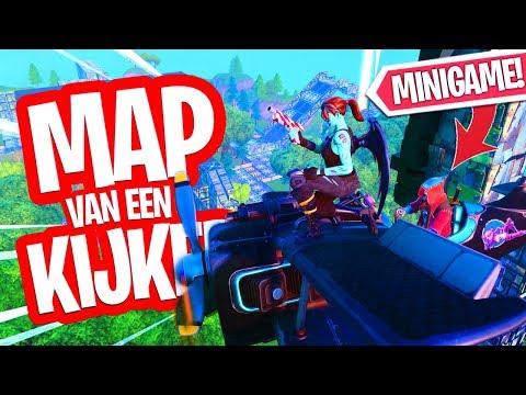 2V2 + DOMME HIDE AND SEEK FOUT in MAP VAN EEN KIJKER! FORTNITE CREATIVE MINIGAME