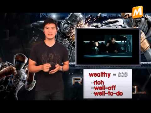 เรียนภาษาอังกฤษผ่านหนังดัง Real Steel#Tape 15 รายการ English on Films ทาง M Channel