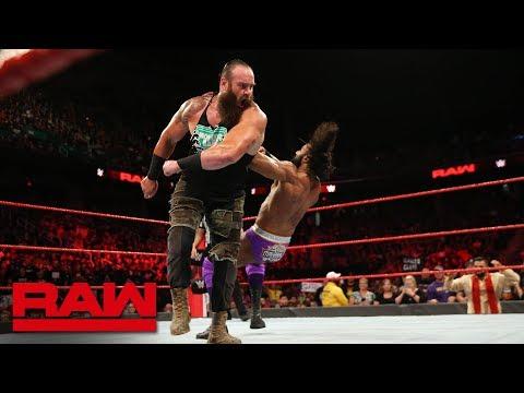 Braun Strowman & Finn Bálor vs. Kevin Owens & Jinder Mahal: Raw, Aug. 13, 2018