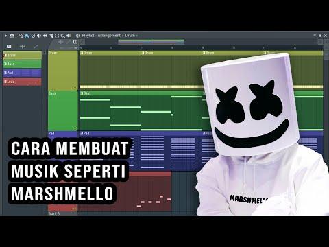 TERBONGKAR! Beginilah Cara Membuat Lagu Seperti Marshmello