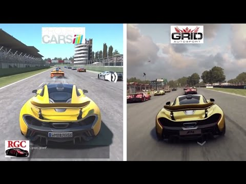 Project cars vs grid autosport mclaren p1 graphics - Project cars mclaren p1 ...