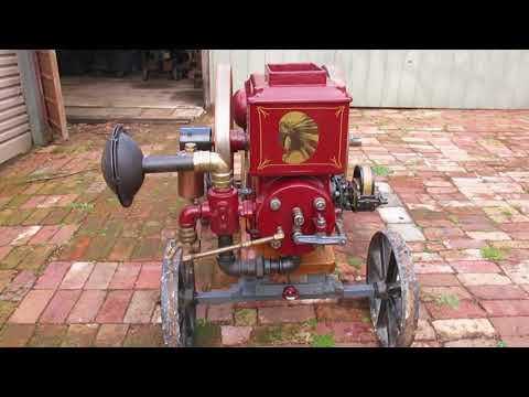 Waterloo Gasoline Engine Co. Big Chief 4.5 HP 1917