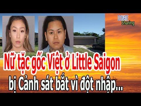 N,ữ t,ặ,c g,ố,c Việt ở Little Saigon b,ị C,ả,nh s,á,t b,ắ,t v,ì đ,ộ,t nh,ậ,p