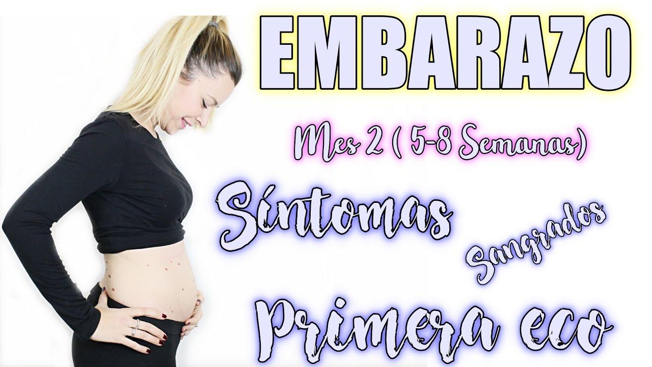 8 semanas de embarazo y no tengo sintomas