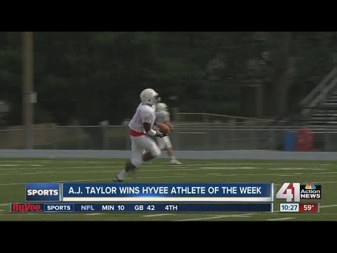 Hy-Vee Athlete of the Week: A.J. Taylor