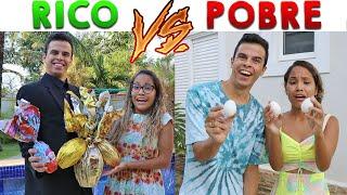 RICO VS POBRE - PÁSCOA 2!