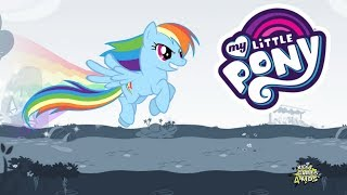 My Little Pony Rainbow Runners Epic Color Rush 23 RAINBOW DASH Dashes through Obstacles