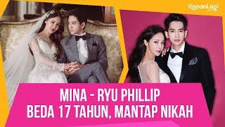 Beda 17 Tahun, Mina Menikah Dengan Ryu Phillip