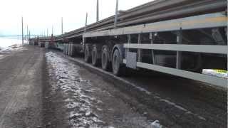Road train Austria 125m 300 tonnen Fa.Gruschina