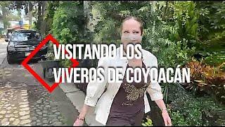 Visitando los Viveros de Coyoacán.