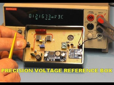 Scullcom Hobby Electronics #11 - Design & Building a Precision Voltage Reference Box