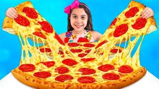 Sarah e a história engraçada sobre PIZZA para o papai - Sarah de Araújo