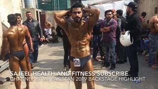Mr.Pakistan 2019 Backstage Highlight (28-Feb-2019)