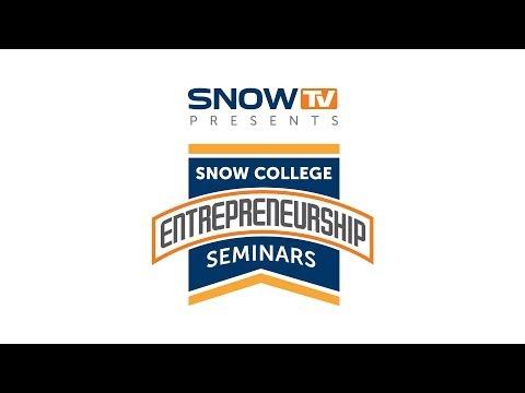 Snow College Entrepreneurship Seminar: Tom Bailey 10-1-2014
