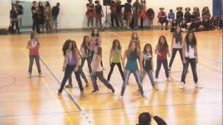 Dança Hip Hop - Colégio Guadalupe - Pav. Municipal Qta Conde 11-02-2012