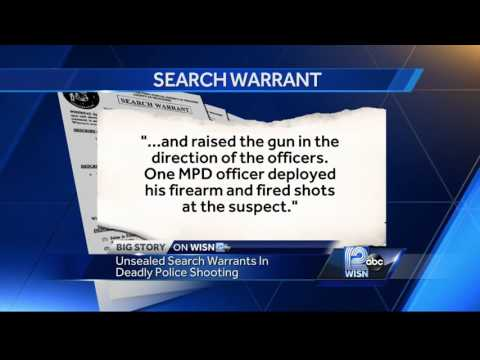 Search warrant unsealed in Sylville Smith shooting