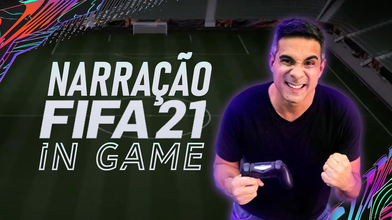 VEJA COMO ESTÁ A NARRAÇÃO DO GUSTAVO VILLANI NO FIFA 21! #FIFA21Gameplay
