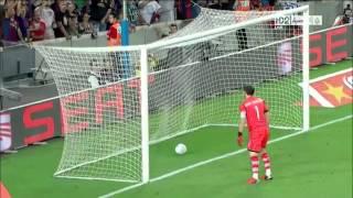 ريال مدريد 2-3 برشلونة ذهاب كاس السوبر الاسباني 2012-2013