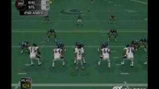 NFL GameDay 2004 PlayStation 2 Gameplay - Pigskin Action
