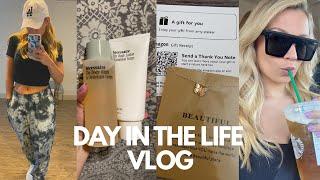 WORK DAY IN MY LIFE | CAROLINE QUINN