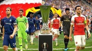 Arsenal vs Chelsea - UEFA EUROPA LEAGUE FINAL 2019