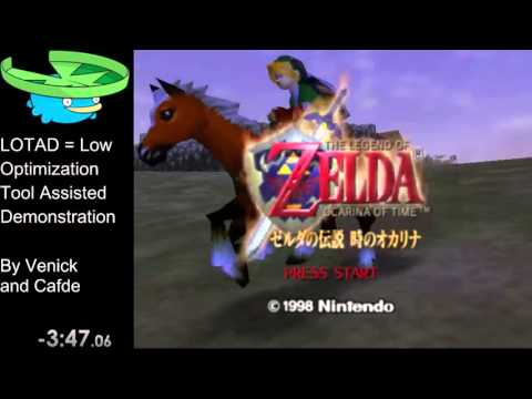 Ocarina of Time 100% in 3 Pauses [Commentated]