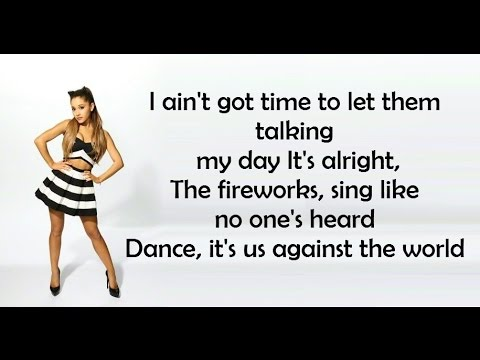 Ariana Grande  they don't know lyrics