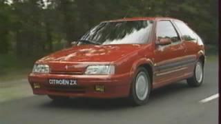 Citroën ZX 16v (Test - Essai - Reportage) FR 1992