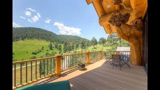 Impressive $10 Million 10,929 SQ. FT 5 Bedroom 7 Bathroom Log Mansion in Colorado USA