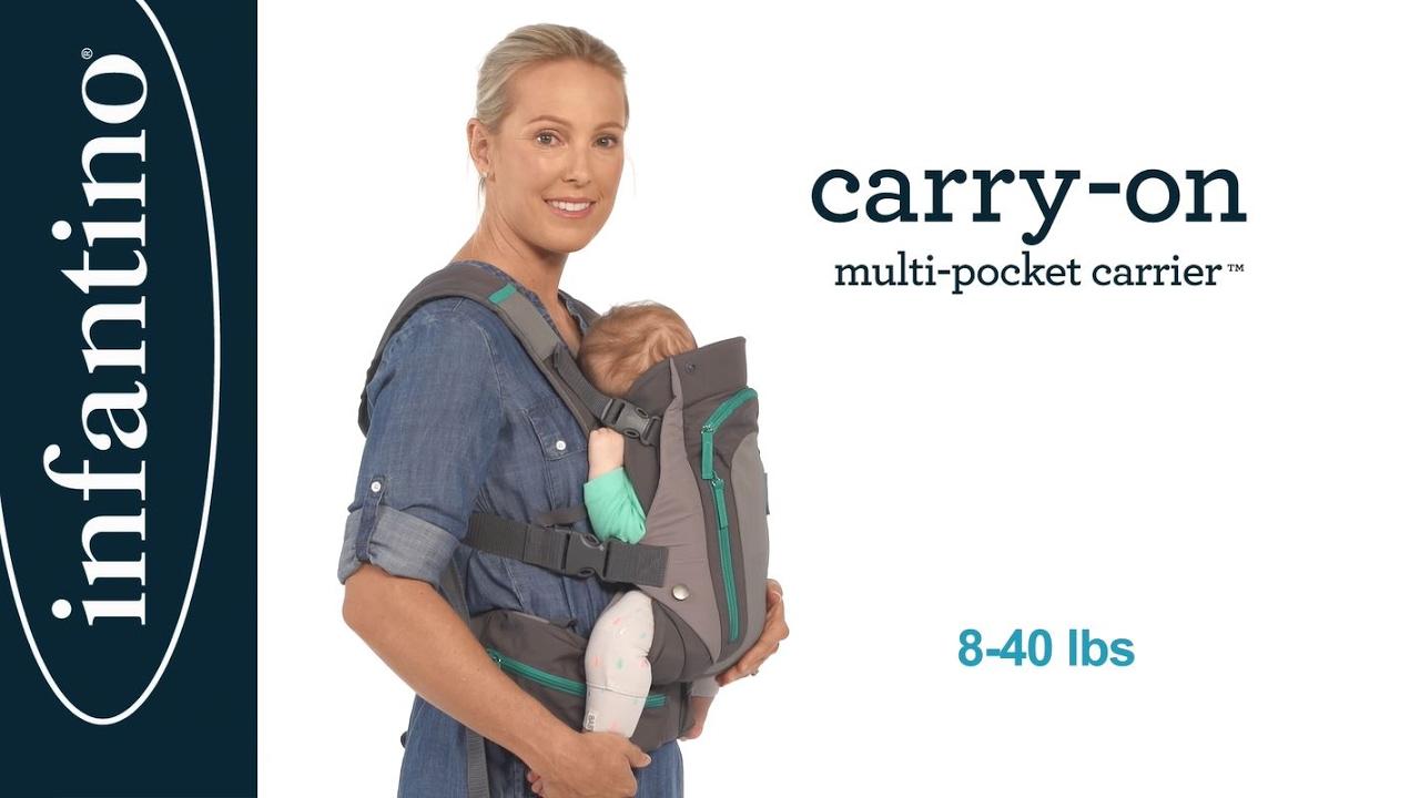 Carry On Multi Pocket Carrier Demo
