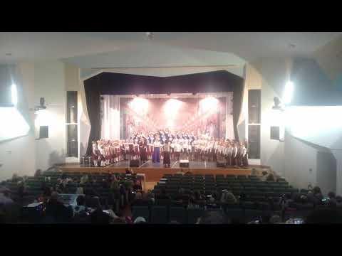 Выступление хора/Песня о земной красоте/22.03.2019