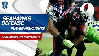 Seattle's Defense Shuts Down Peterson & Co. in Arizona! | Seahawks vs. Cardinals | Wk 10 Player HLs