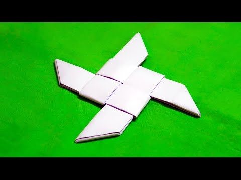 Super Origami Ninja Star (easy)