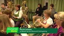 Schöngeising - Blasmusik - Ortschaft der Woche