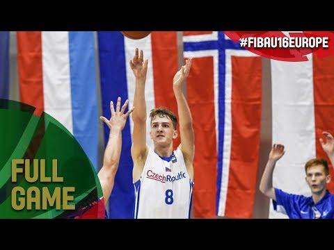Hungary v Czech Republic - Live - FIBA U16 European Championship 2017 - DIV B