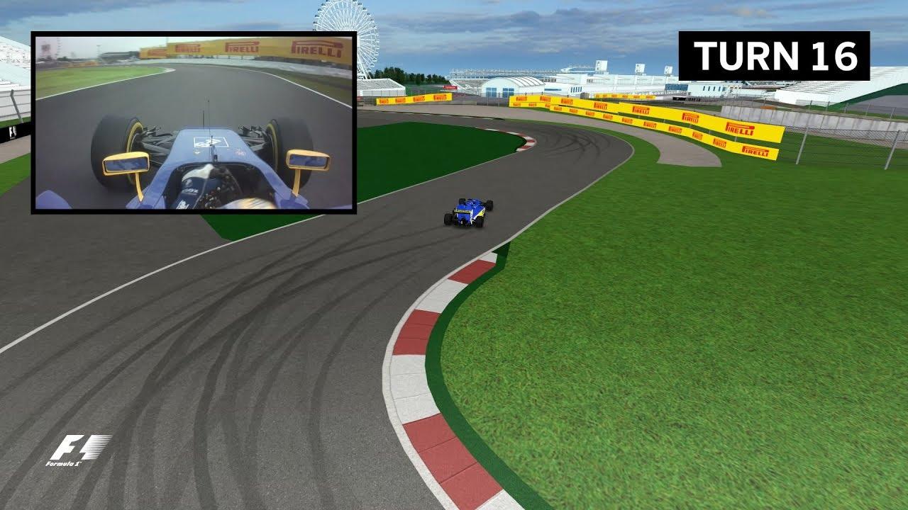 2017 Japanese Grand Prix Virtual Circuit Guide Youtube Virtualcircuit