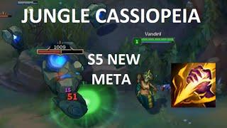 Jungle Cassiopeia Guide!! (S5 RIP)