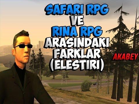 Gta Sa - [SF-RP] - RİNA RPG VE SAFARİ RPG ELEŞTİRİ