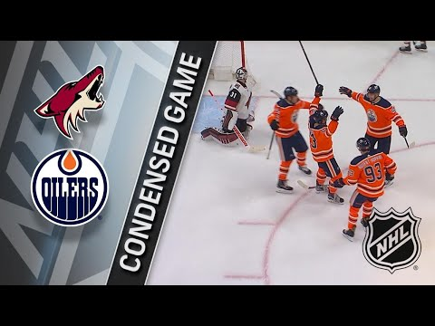 11/28/17 Condensed Game: Coyotes @ Oilers