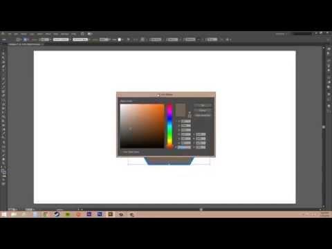 Adobe Illustrator CS6 for Beginners - Tutorial 41 - Adding Color