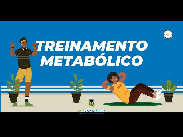 Aula 01 | Treinamento Metabólico (Secretaria Adjunta de Esportes e Lazer)
