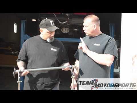 Team Z Motorsports Anti Roll Bar Install
