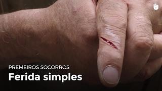Sangue ferida no