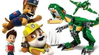 Щенячий Патруль новая серия ДИНОЗАВРЫ Герои в Масках Мультик Видео для детей про #игрушки