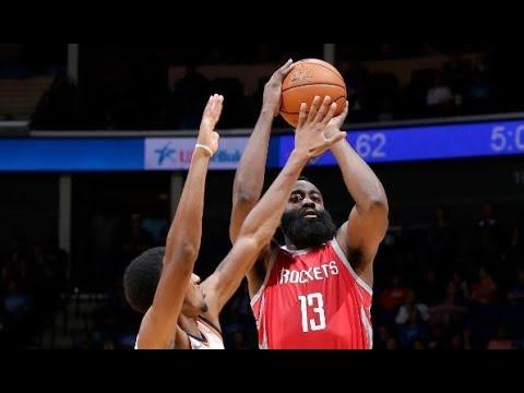 The Houston Rockets Rain Down 24 Three