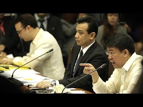 1 Philippine Senate Hearing Jejomar Binay Makati city hall 2 Cecilia Caga-anan 5/9